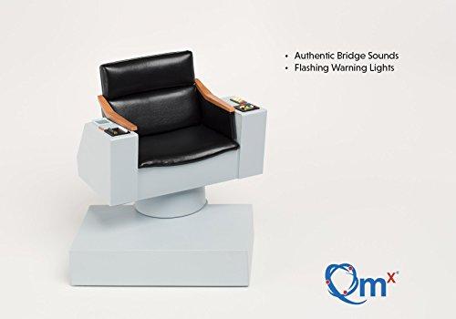 Quantum Mechanix Star Trek TOS 1:6 Scale Captains Chair FX Replica