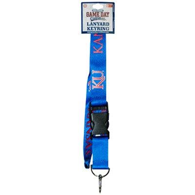 NCAA Kansas Jayhawks Keychain Lanyard