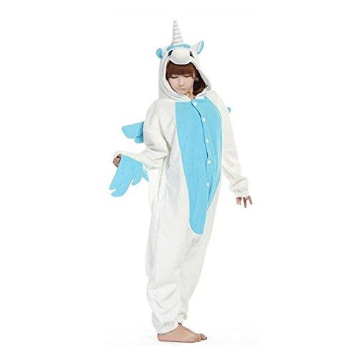 Unisex Adult Onesies Animal Cosplay Costume Halloween Xmas Pajamas ()
