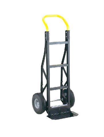 Harper Lightweight Nylon Hand Truck with 10'' Air Tires, 600# Capacity & 14'' Nose