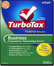 TurboTax 2009 Business Federal + E-File by TurboTax