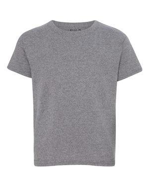 Gildan Youth DryBlend 5.6 oz, 50/50 T-Shirt - White - S
