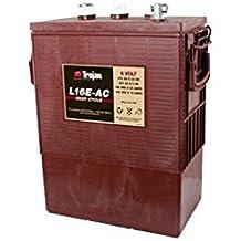 Trojan L16E-AC Flooded Lead Acid Deep Cycle Battery 6V 370Ah FAST USA SHIP