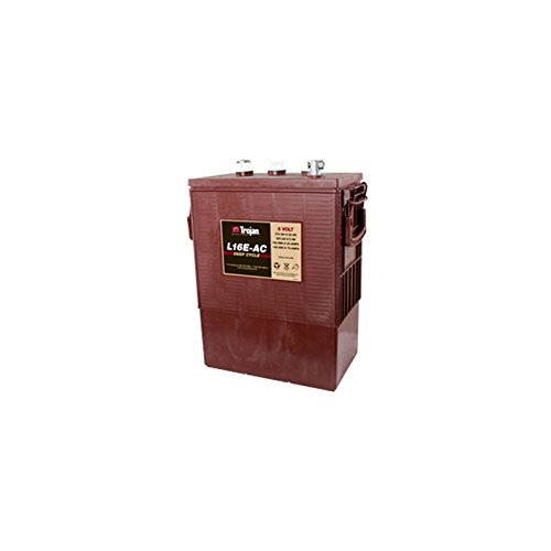 Trojan L16E-AC Flooded Lead Acid Deep Cycle Battery 6V 370Ah FAST USA SHIP (6 Trojan Volt Batteries)