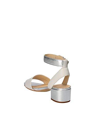 Gris silver Pour 26131265 Sandales Orabella Femme White Clarks g1w0qAfp