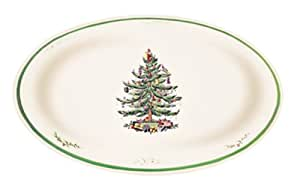 Spode Christmas Tree Oval Dish