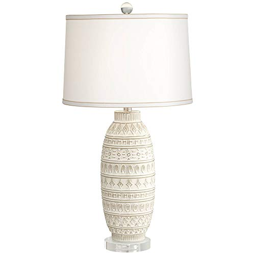 (Cullen Almond Ceramic Table Lamp)