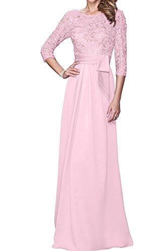 Topkleider para Mujer Rosa Vestido Trapecio RrqO7n6WR