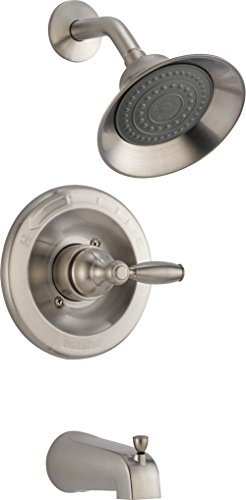 Peerless PTT188790-BN Apex Tub and Shower Trim, Brushed Nickel by DELTA FAUCET