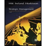 Read Online Strategic Management - Comp & Glob - Cases (7th, 07) by Hitt, Michael A - Ireland, R Duane - Hoskisson, Robert E [Paperback (2006)] ebook