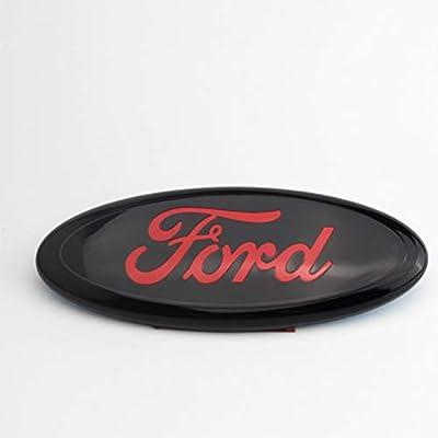 TGCF Logo Emblem Buchstaben Aufkleber Dekorative Frontgitter-Rahmen aus hochglanzpoliertem Legierung f/ür Dodge Durango