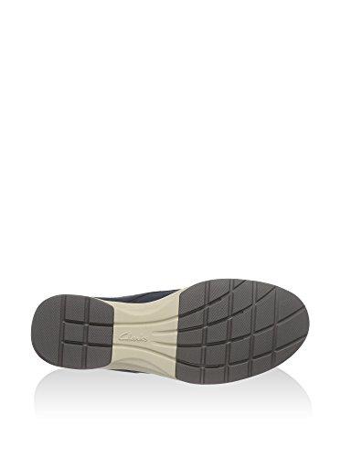 Clarks Stafford Plan - Zapatos Hombre Azul Marino