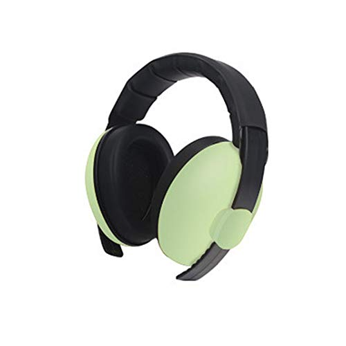 Ugthe Baby Safety Baby Ears Protection Noise Reduction Concert Firework Headphone Kids Earmuff - Green from Ugthe