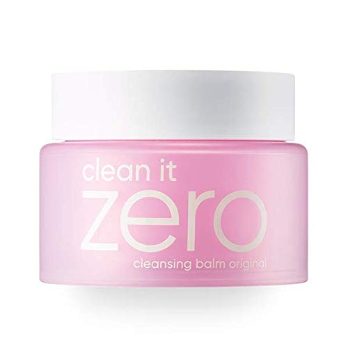 Coconut Herbal Cleanser - BANILA CO NEW Clean It Zero Cleansing Balm Original - Instant Makeup Remover, Facial Wash, 100ml, Double Cleanse, Hydrates, All Skin Types, Hypoallergenic,
