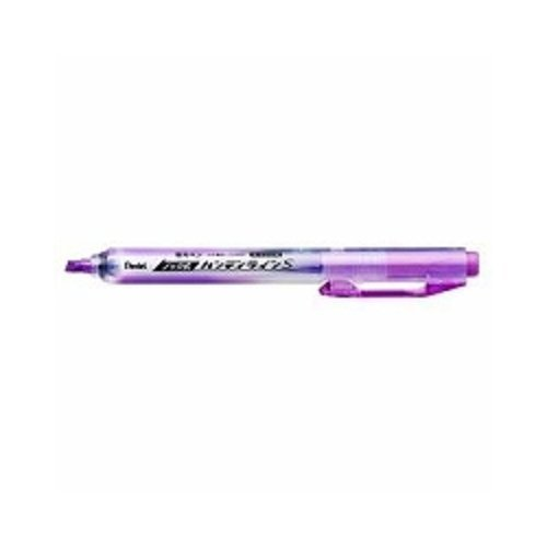 (Pentel Highlighter (Knock type) Handy Line S [Violet] x 3 pieces (Japan Import))