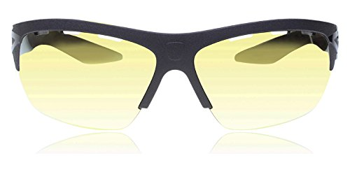 (Puma 0001S 7 Black/Gold 0001S Wrap Sunglasses Cycling, Running, Lens Category)