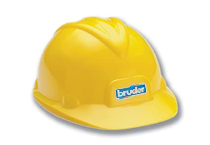 6507f728992 Amazon.com  Bruder Toy Construction Hard Hat  Toys   Games