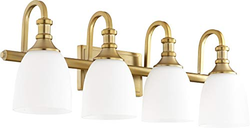 Quorum Vanity Lighting - Quorum 5011-4-80 Four Light Vanity