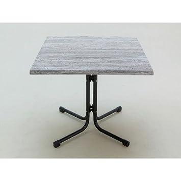 Table de jardin carrée taille : 72 cm x 80 cm x 80 cm-couleur ...