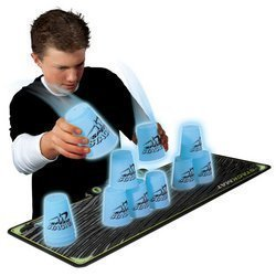 Play Along Toys Blue SPEED STACKS GLOW STACKPACK