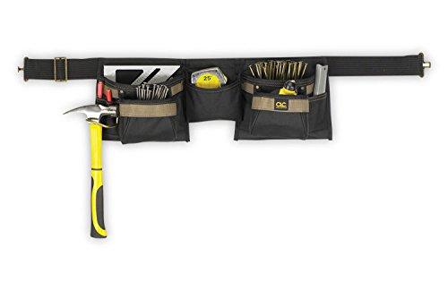 Price comparison product image Clc Custom Leathercraft 1370 8 Pocket Carpenter`s Poly Apron