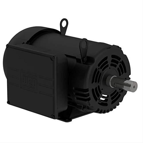 WEG 10 HP Single Phase 1750 RPM Air Compressor Duty Electric Motor 215T Frame 01018OS1CCD215T
