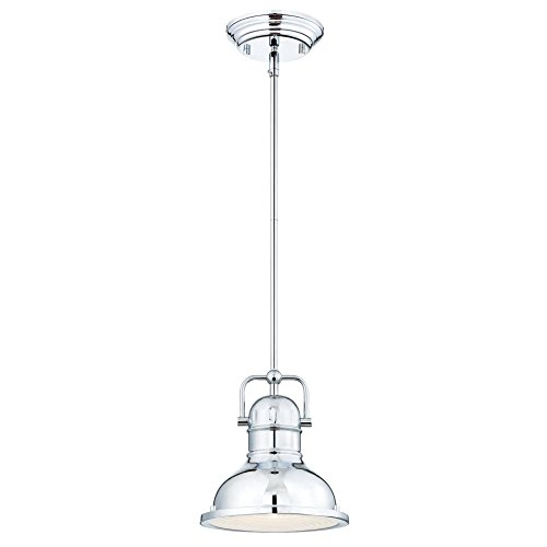 Chrome Industrial Pendant Light in US - 6