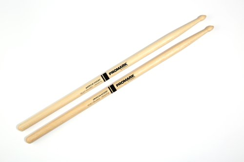 Promark Select Balance Forward Balance Drum Sticks, Wood Tip.550 (5A)