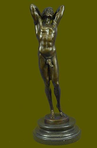 Man Bronze Statue - 6
