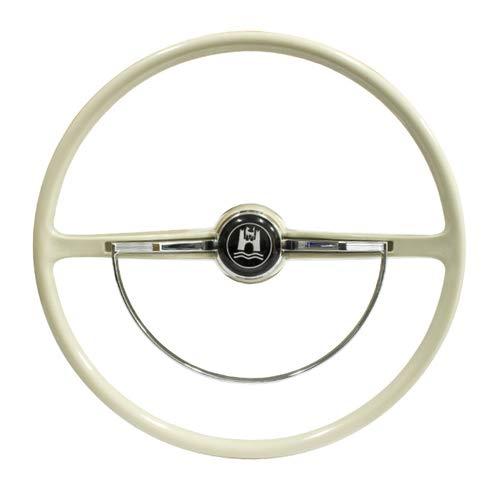 - Stock VW Design Replacement Grey Steering Wheel Kit T-1, Ghia, Type-3 1962-1971
