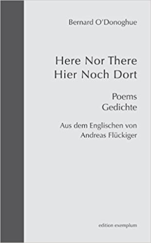 Here Nor There Hier Noch Dort Poems Gedichte Edition