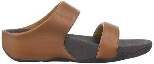 Lulu Pelle In Fitflop Tan Slitta Sandalo Donna 6U6Eqxwp