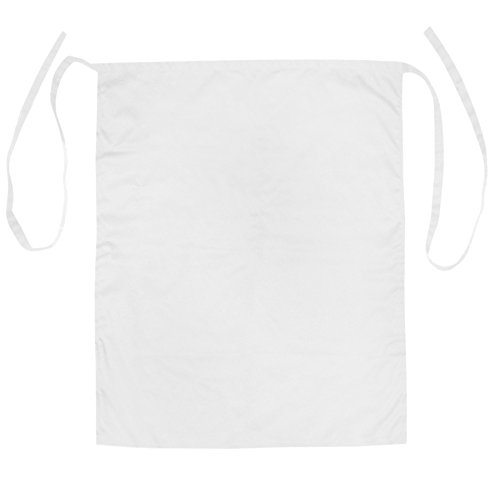 Opromo Bistro Apron with One Patch Pocket, Polyester/Cotton Twill