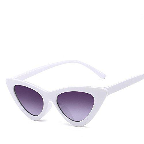 mar sol sol a11 sol tendencia Aoligei marco de hombre gafas señora triángulo Gafas de moda de gafas wx66n04