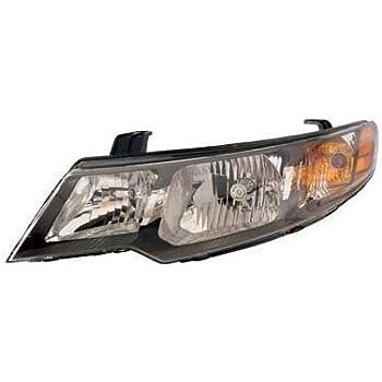 Left driver headlight light fit 2010 2011 2012 2013 Forte sedan coupe hatchback