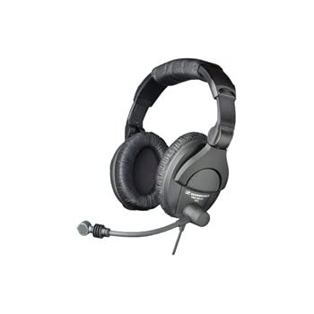 sennheiser hmd280 xq dual sided closed back dynamic headset with supercardioid boom. Black Bedroom Furniture Sets. Home Design Ideas