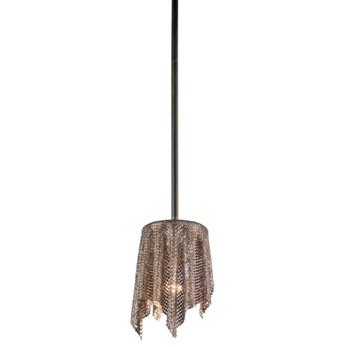Kichler Drapes (Kichler  42679OZ One Light Mini Pendant)