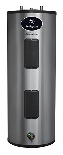 Westinghouse WER040C2X055N06 Electric Water Heater with Durable 316L Stainless Steel Tank, 40 gallon, 5500W, 6-Year Warranty (Energy Efficient Water Heaters)