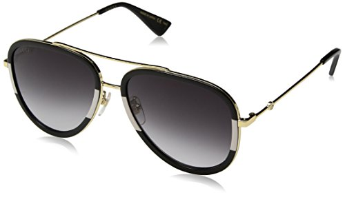 Gucci 0062S 006 Gold 0062S Aviator Sunglasses Lens Category 3 Size - Designer Sunglasses Gucci