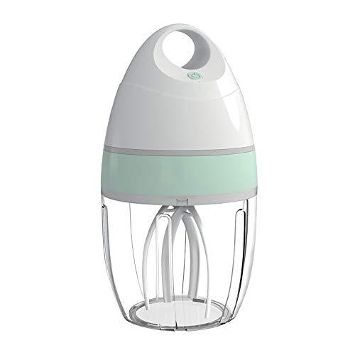 Momugs Wireless Stand Mixer,Electric Egg Beater Mixer,Whipping Egg Whites,Food Cream,Milk,Shake,Mayonnaise Mixing Beater,Splash Guard Egg Whisk