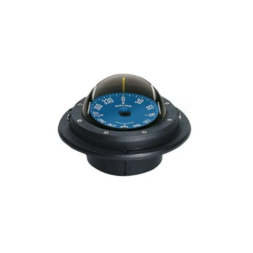 Image of Boating Accessories New Voyager Racing Compass Ritchie Navigation Ru-90 Flush 4-1/8' Hole Black Light No Compasses
