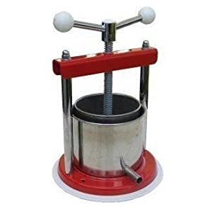 Ferrari maxi 1 3 liter fruit wine press for Home wine press