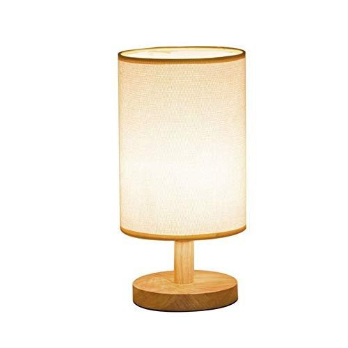 Mr. Fragile Lámpara de Mesa de Noche Redonda LED, lámpara de ...