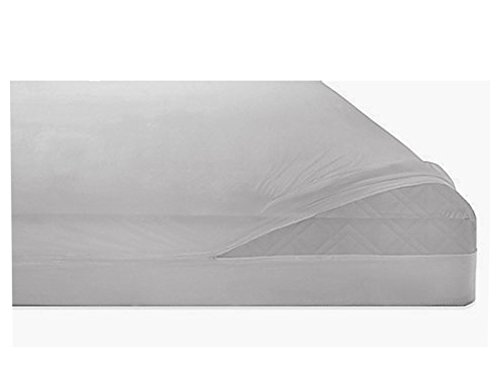 Heavy Gauge Vinyl Zippered, Waterproof, Bed Bug Proof Mattress Covers, 16 in. deep, King (Vinyl Mattress Protector 6 Gauge)