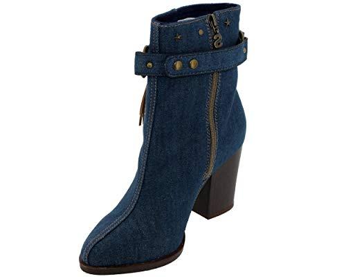 Jeans Desigual Folk Mujer Botín nbsp;wstd02 18 rX4Aqr