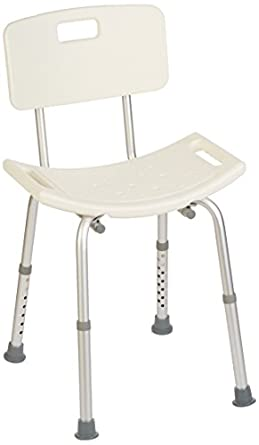 Amazon.com: Homecraft Shower Chair, Shower Seat with Removeable ...