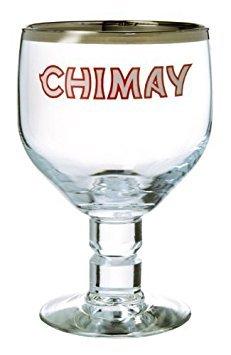 (Chimay Belgian Ale Goblet/Chalice Beer Glasses 0.33L - Set of 2 )