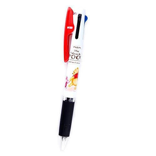 (Uni-Ball Jetstream Disney Winnie the Pooh Ballpoint Pen 3 Color Black, Red, Blue, 0.5mm (Pooh with Piglet [ 83893 ]))