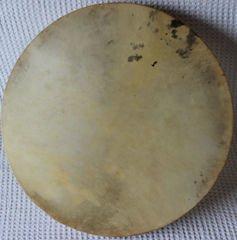 Persian Quality Daf Naturel Head , Erbane , Bendir Drum with Soft Case