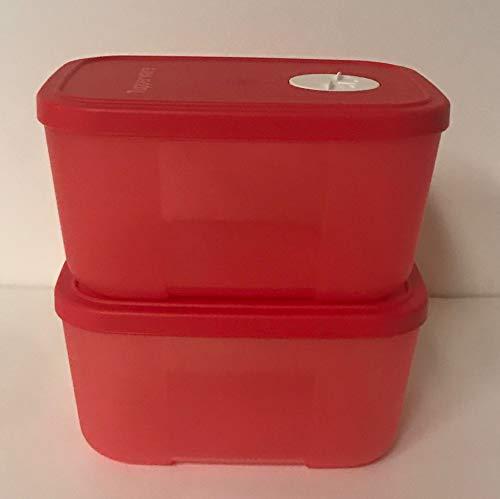 Tupperware Freezer Mates - 650ml (Set of 2Pcs) pink